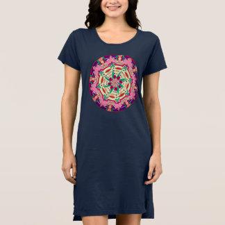 Kleid das T-Shirt der kundenspezifischen Frauen