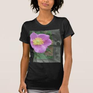 KLEIDUNG Blumen durch den See - Rosa T-Shirt