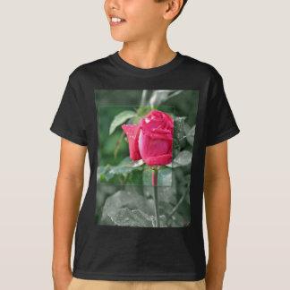 KLEIDUNG Blumen durch den See - Rote Rose T-Shirt