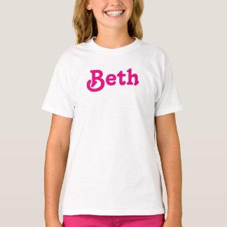 Kleidungs-Mädchen Beth T-Shirt