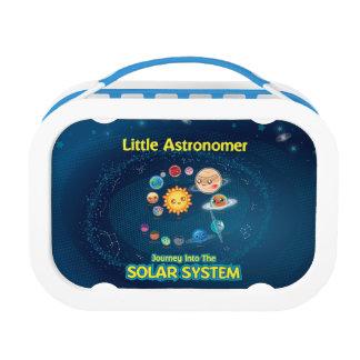Kleine Astronomen-Blau-Brotdose Brotdose