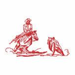 Kleine Ausschnitt-PferdeKontur