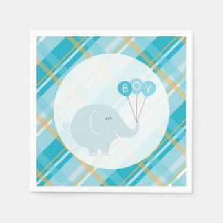 Kleine Babyelefantservietten Papierserviette