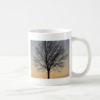 kleine Baumsonnenunterganglandschaft, Baum Sonnenu Tasse