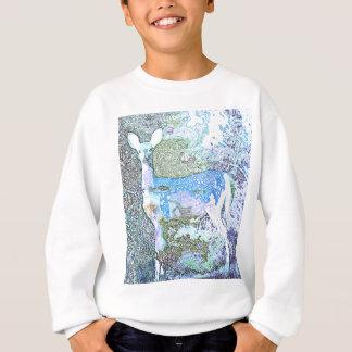 Kleine blaue Rotwild Sweatshirt