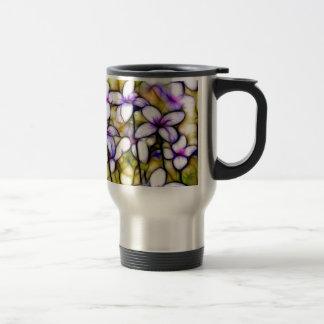 Kleine Bluet Wildblume-Batik-Kunst Reisebecher