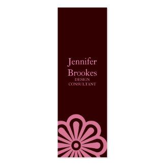 Kleine Blume |brpnk der Geschäfts-Karten-| Mini-Visitenkarten