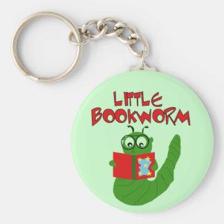 Kleine Bücherwurm-T-Shirts und Geschenke Standard Runder Schlüsselanhänger