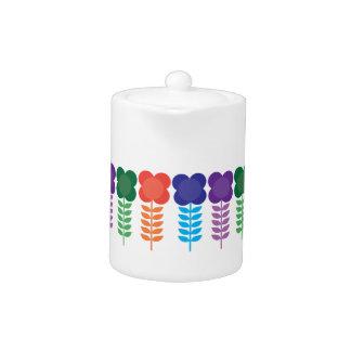 Kleine Colorblock Teekanne