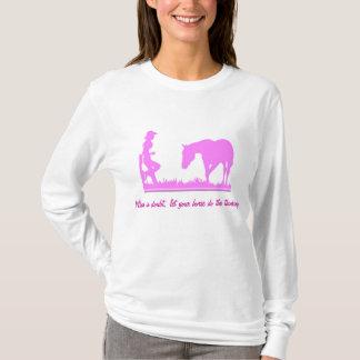 Kleine Cowgirlkleidung T-Shirt