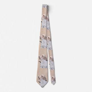 Kleine Dachshund Griffon Vendéen Malerei - Krawatte