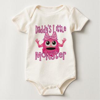 Kleine das Monster-Mädchen des Vatis Baby Strampler