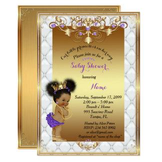 Kleine etnic Prinzessin, Babyparty-Einladung, Karte