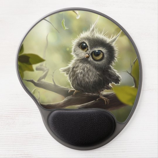 Kleine Eule / Little Owl Gel Mousepad