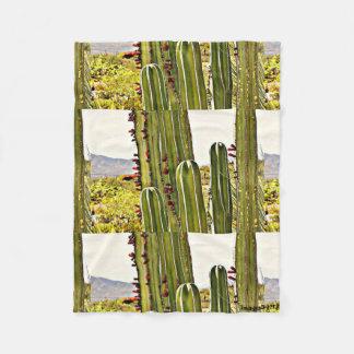 Kleine Fleece-Decke - Ofen-Rohr-Kaktus Fleecedecke