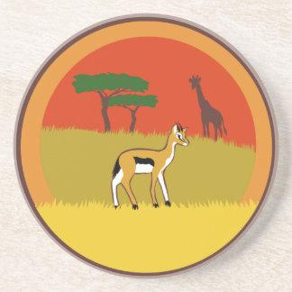 Kleine Gazelle Getränkeuntersetzer