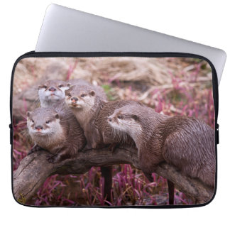 Kleine gekratzte Otter-Laptop-Hülse Laptop Sleeve