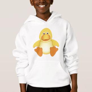 Kleine gelbe Ente Hoodie