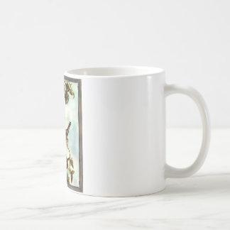 Kleine gelbe Vögel Kaffeetasse