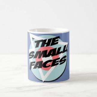 Kleine Gesichter Kaffeetasse