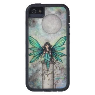 Kleine grüne Feen-gotische feenhafte iPhone 5 Etui