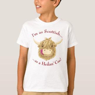 Kleine Hamish schottische Hochland-Kuh T-Shirt