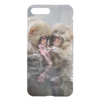 Kleine heiße Quellen der Affe-|, Japan iPhone 8 Plus/7 Plus Hülle