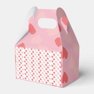 Kleine Herz-kleiner Bevorzugungs-Kasten Geschenkschachtel