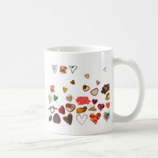 kleine Herzsammlung Kaffeetasse