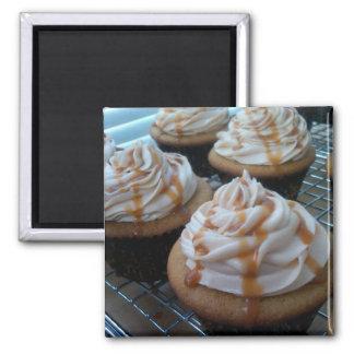 Kleine Kuchen/Backen Quadratischer Magnet
