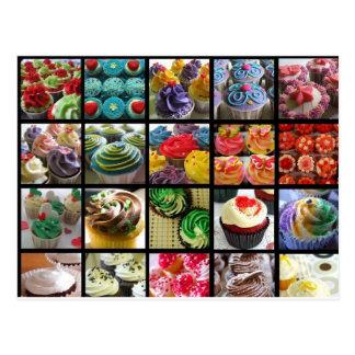 kleine Kuchen Postkarte
