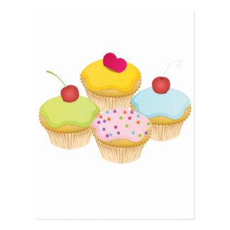 Kleine Kuchen Postkarten