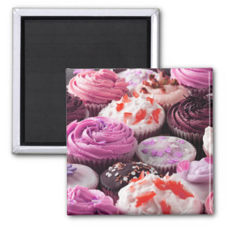 Kleine Kuchen Quadratischer Magnet