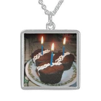 Kleine Kuchen Sterling Silberkette
