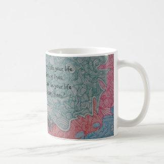 Kleine Linien Kaffeetasse