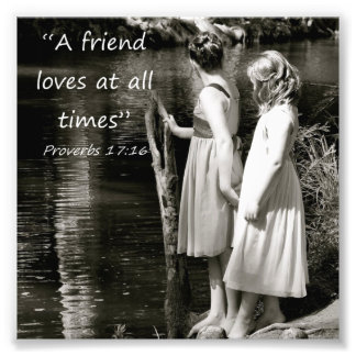Kleine Mädchen-Freundschafts-Sprichwort-17 16 Foto