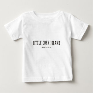 Kleine Mais-Insel Nicaragua Baby T-shirt