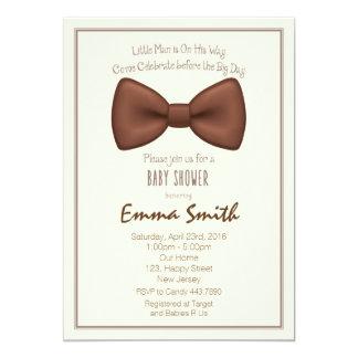 Kleine Mann-Babyparty-Einladung Karte