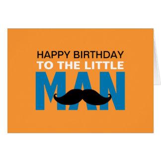 Kleine Mann-Geburtstags-Karte Karte