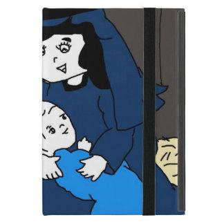 Kleine Mary und Jesus in den Blues iPad Mini Hülle