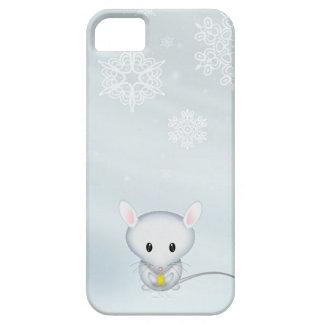 Kleine Maus im Schnee Barely There iPhone 5 Hülle