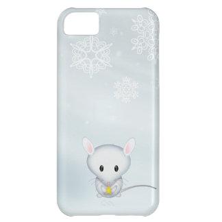 Kleine Maus im Schnee iPhone 5C Hülle