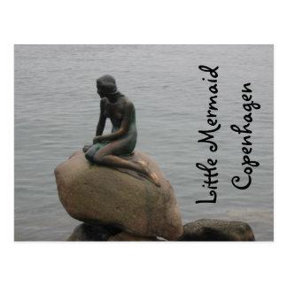 Kleine Meerjungfrau Kopenhagen Postkarte