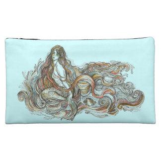 Kleine Meerjungfrau - mittlere kosmetische Tasche