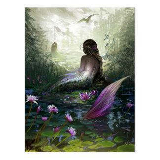 Kleine Meerjungfrau-Postkarte Postkarte