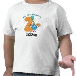 Kleine Monster-Kinder2. Geburtstag personalisiert T-Shirts