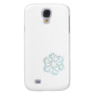 Kleine Perlen-Schneeflocke, zum Ihren Fotos Galaxy S4 Hülle