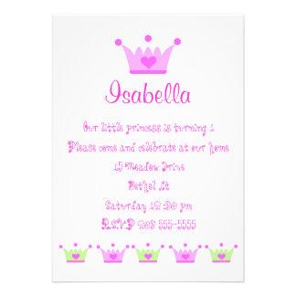 Prinzessinen Einladungen