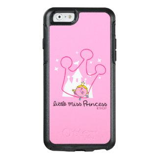 Kleine riesige rosa Krone Fräulein-Prinzessin | OtterBox iPhone 6/6s Hülle