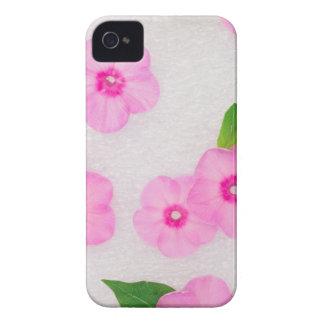 kleine rosa Blumen iPhone 4 Hüllen